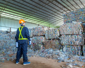 Production des matieres premieres recyclees