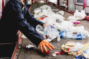 Traitement des dechets collecte et tri